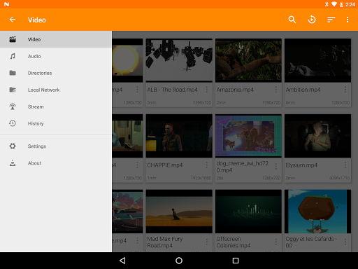 VLC for Android screenshots 13