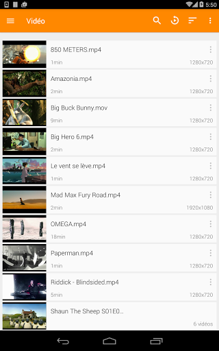 VLC for Android screenshots 19