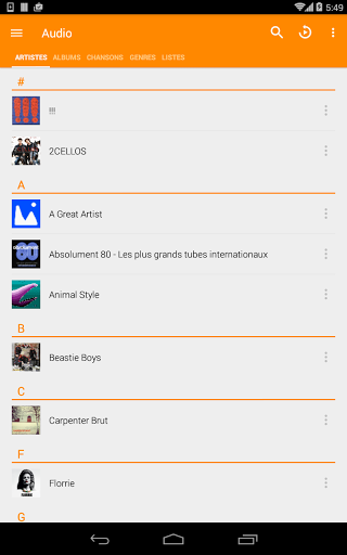 VLC for Android screenshots 20