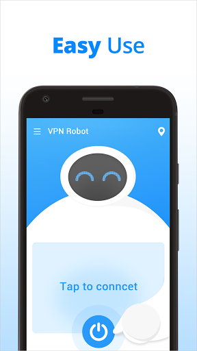 VPN Robot -Free Unlimited VPN Proxy ampWiFi Security screenshots 2