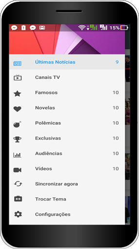 Ver Canais TV 1.0 screenshots 2