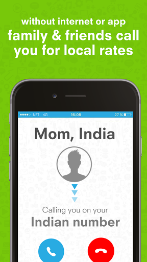 ViMo your international number. free calls 2.7.2 screenshots 3