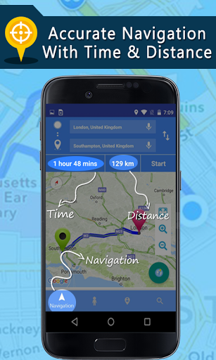 Voice GPS Driving Directions Gps Navigation Maps 1.4.6 screenshots 2