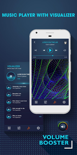 Volume Booster – Music Player MP3 with Equalizer 1.0.6 screenshots 6