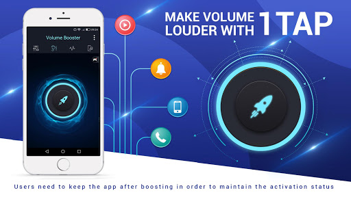 Volume Booster and Equalizer 2017 1.5.1 screenshots 6