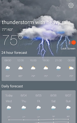 Weather Radar amp Forecast 1.9.3 screenshots 12