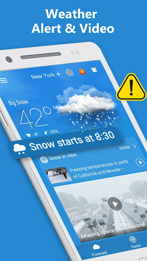 Weather Radar amp Forecast 1.9.3 screenshots 5