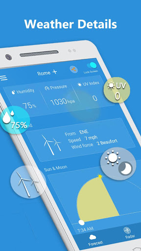 Weather Radar amp Forecast 1.9.3 screenshots 6