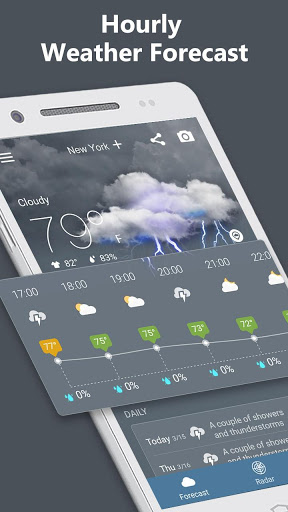 Weather Radar amp Forecast 1.9.3 screenshots 8