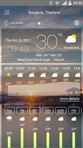 Weather forecast 36 screenshots 19