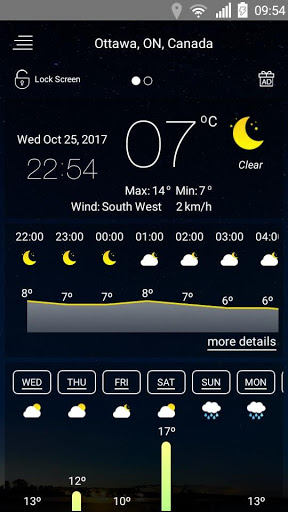 Weather forecast 36 screenshots 24