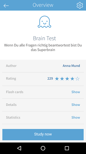 card2brain flashcards 5.2.2 screenshots 3