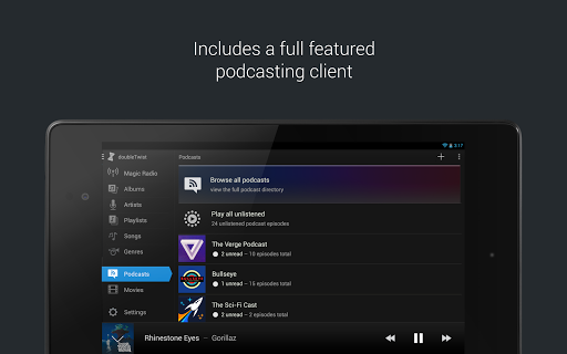 doubleTwist Music amp Podcast Player with Sync 3.1.2 screenshots 12
