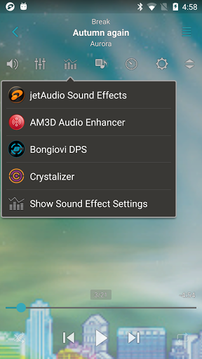 jetAudio HD Music Player 9.1.4 screenshots 4