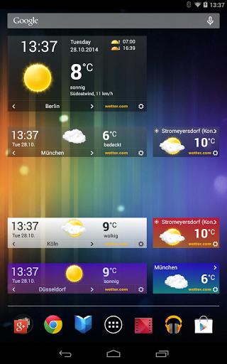 wetter.com – Weather and Radar screenshots 12