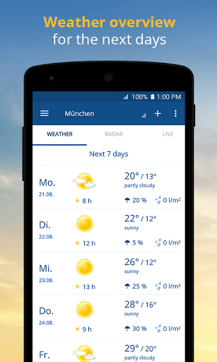 wetter.com – Weather and Radar screenshots 2
