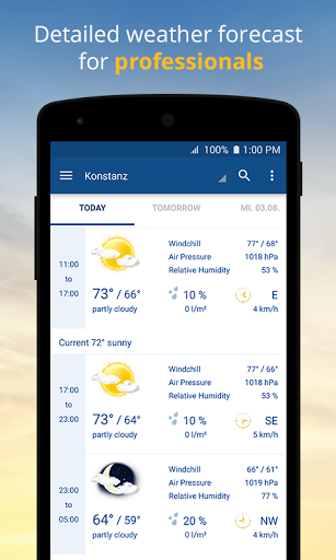 wetter.com – Weather and Radar screenshots 3