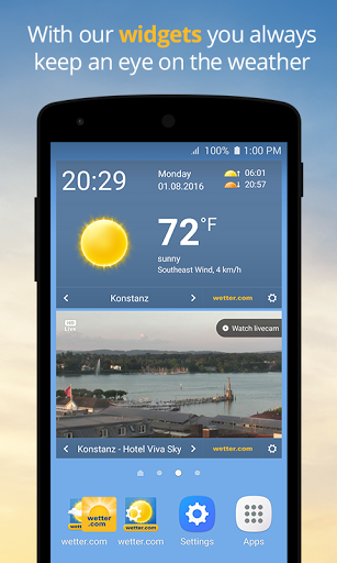 wetter.com – Weather and Radar screenshots 4