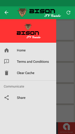 Bison Mobile TV Guide 1.0.2 screenshots 2