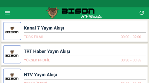 Bison Mobile TV Guide 1.0.2 screenshots 5