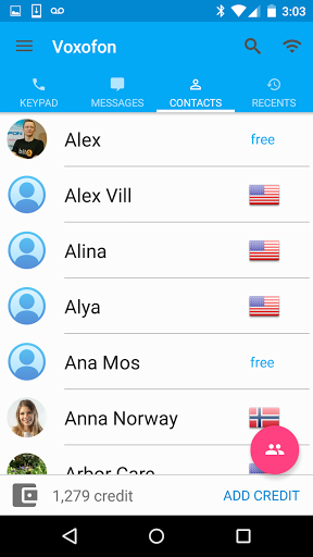Free Calls amp Text Messenger 6.0.0 screenshots 4