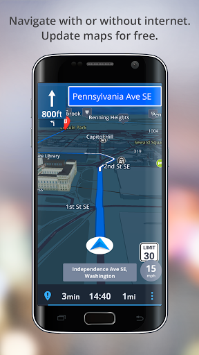 GPS Navigation – Drive with Voice Maps amp Traffic screenshots 2