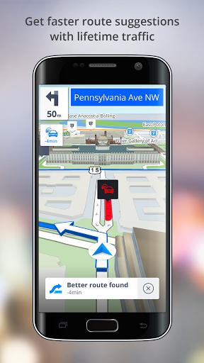 GPS Navigation – Drive with Voice Maps amp Traffic screenshots 3