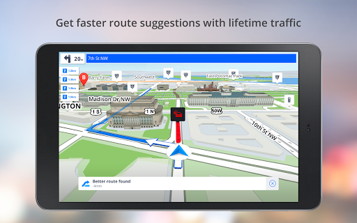 GPS Navigation – Drive with Voice Maps amp Traffic screenshots 9