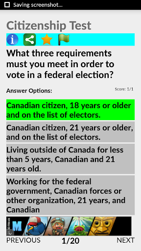 Guide Canada Citizenship Test 3.0 screenshots 5