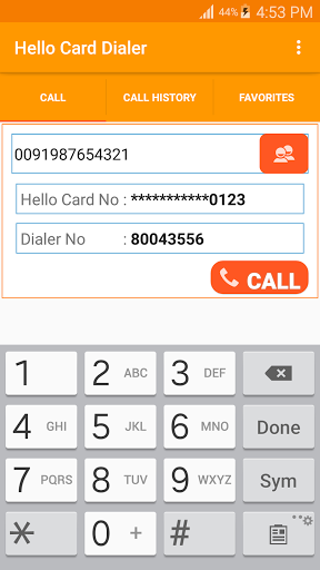 Hello Card Dialer 1.29 screenshots 5