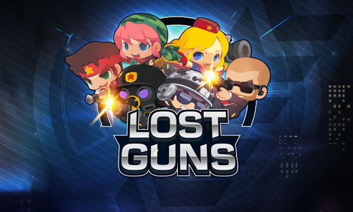 LOSTGUNS 2D pixel online Shooting game PVP screenshots 1