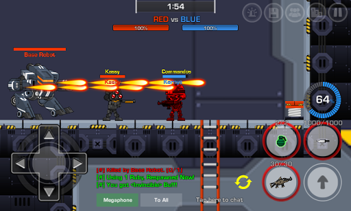 LOSTGUNS 2D pixel online Shooting game PVP screenshots 7