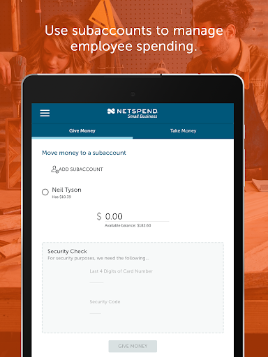 NetSpend Small Business screenshots 12