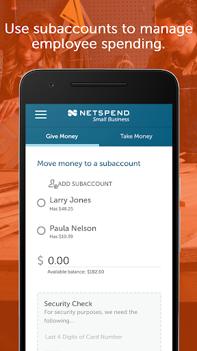 NetSpend Small Business screenshots 2