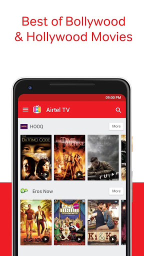 Download Full Airtel TV: Movies, TV series, Live TV MOD APK