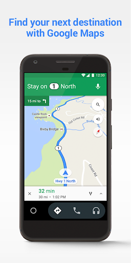 Android Auto – Maps Media Messaging amp Voice screenshots 2