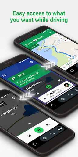 Android Auto – Maps Media Messaging amp Voice screenshots 5
