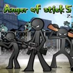 Download Full Anger of stick 5 : zombie 1.1.5 APK MOD Unlimited Cash