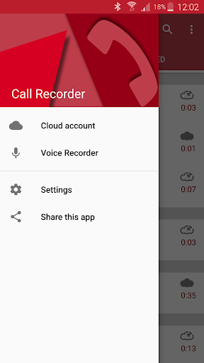 Automatic Call Recorder 5.36 screenshots 2