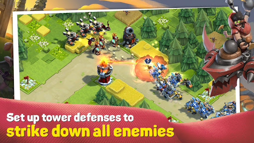 Caravan War Heroes and Tower Defense screenshots 1