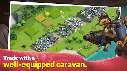 Caravan War Heroes and Tower Defense screenshots 4