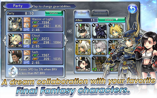 DISSIDIA FINAL FANTASY OPERA OMNIA 1.1.0 screenshots 2