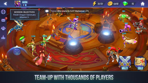 Dungeon Hunter Champions Epic Online Action RPG Unreleased screenshots 4