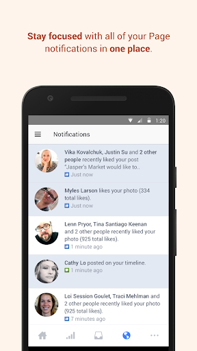 Facebook Pages Manager screenshots 3