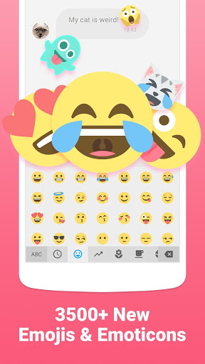 Facemoji Emoji Keyboard-Cute Emoji Theme Sticker 2.1.4.1 screenshots 1