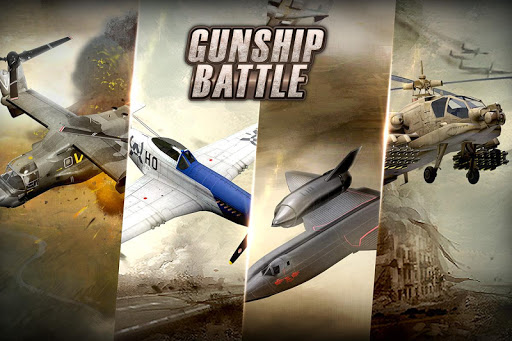 GUNSHIP BATTLE Helicopter 3D 2.6.10 screenshots 4