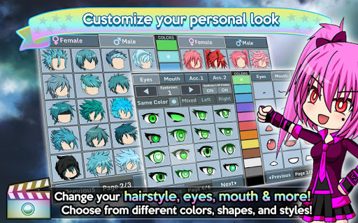 Gacha Studio Anime Dress Up screenshots 4