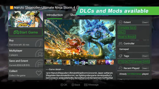 Gloud Games – Best Emulator for XBOX PC PS 2.3.9 screenshots 3