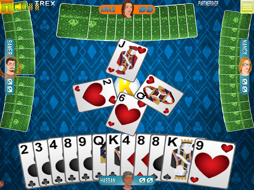 Golden Card Games Tarneeb – Trix – Solitaire screenshots 1