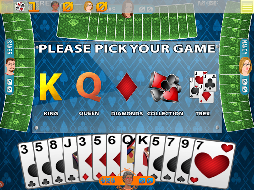 Golden Card Games Tarneeb – Trix – Solitaire screenshots 3